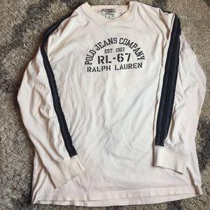 Vintage polo jeans tee shirt